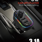 Disk Mp3 Player Large Stock Top Quality Rgb U Disk Type C Car Tape Setup Mp3 Player Fm Transmitter