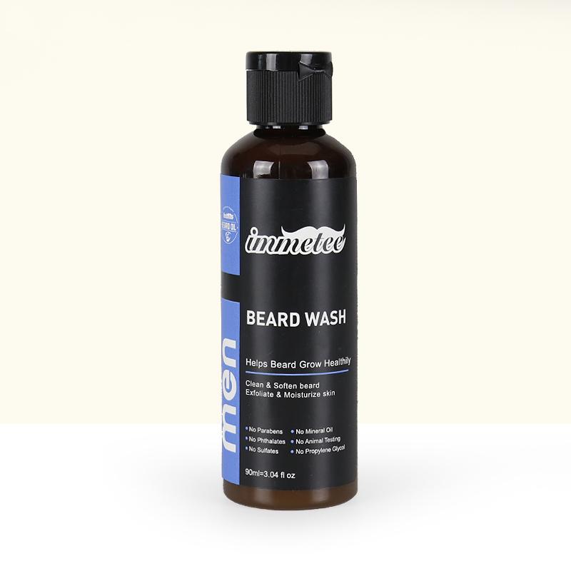 Фирменный кондиционер для бороды, 100% натуральный шампунь для бороды, органическое питательное средство для мытья бороды