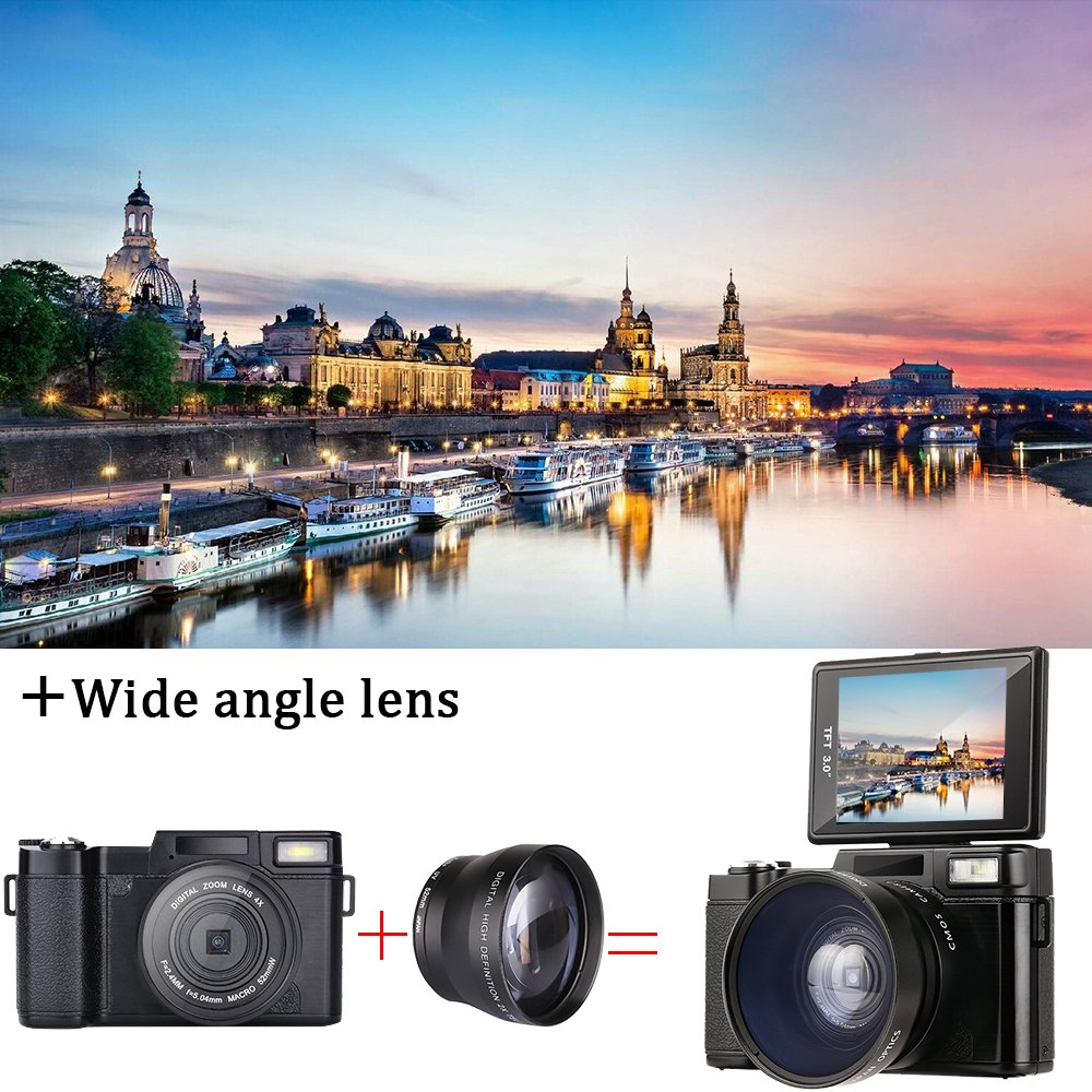 Cheapest dual screen photo camera cheap instant Digital Compact Camera From Shenzhen Manufacturer