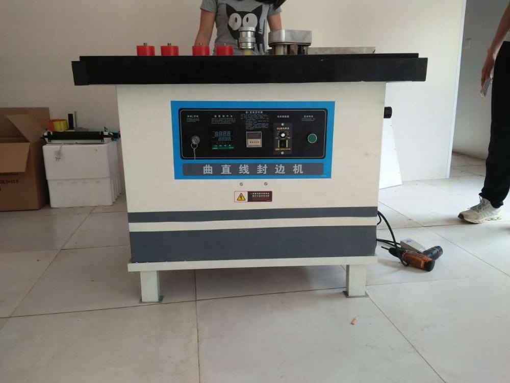 high quality automatic broken belt veneer edge banding machine