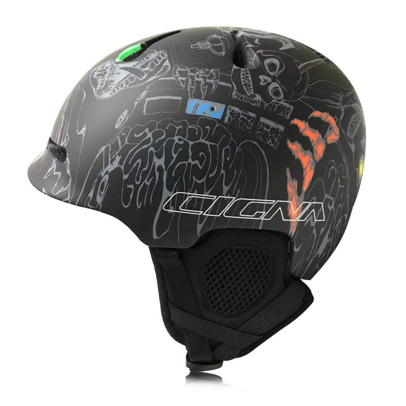 CIGNA Ski Helmet Integrally-molded Adult Safety Protect Helmet Thermal Ultralight Snowboard Helmets