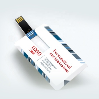 OEM Credit Card with Customized logo USB Flash Drive 2GB 4GB Memory Stick Business Gift