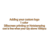 add 1c color logo cost