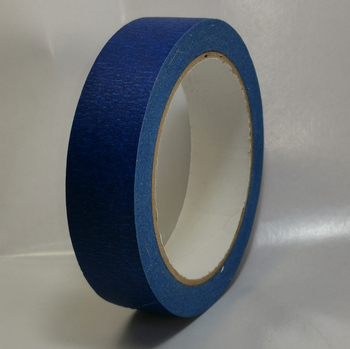 high temperature proof crepe washi wall paint blue red gummed paper masking tape