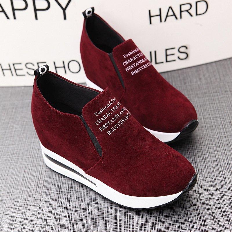 Women sports Casual Shoes Female Mesh Ladies Platform Comfort Sneaker tennis chaussures femme 2020 wedge sneakers