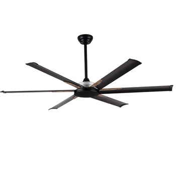 best ceiling fan brand 60 inch 72 inch 96 inch dc motor remote control large size good air flow HVLS ceiling mounted big fan
