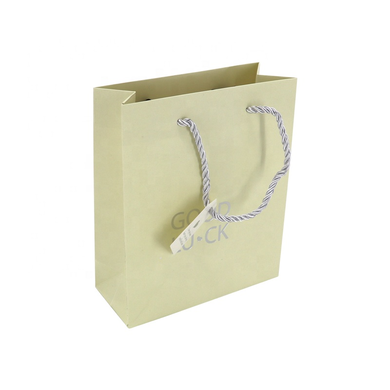 Competitive Price Small Good Luck Paper Bags Supplier Customized With Your Own Logo