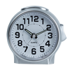 silver needle display alarm clock