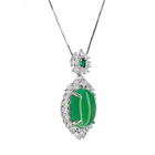 Jade Pendant 2021 Female Luxury Original Jade Carving Small Genuine Jade Pendant Necklace