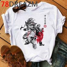 Футболка с рисунком «Алхимик» Fullmetal, Мужская забавная аниме-рубашка в стиле Харадзюку, 2020, 90s, каваи, японский мультфильм, хип-хоп, топы, футбо...(Китай)