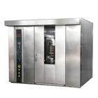 Easy Operation 64 Trays Bread Baking Equipment Bread Baking Ovens Prices Bread Making Machine Bakery Oven Rotary Oven