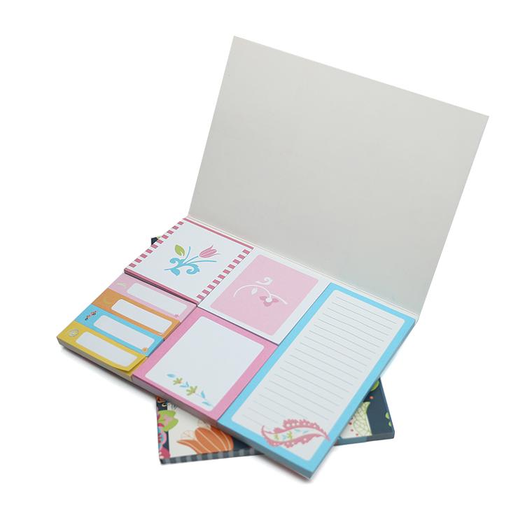 Высокое качество пользовательских персонализированные милые тетрадь блокнот для заметок на клейкой основе, комплект
