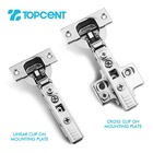 Hinge Hinge Supplier Topcent Modern Furniture Small Angle Soft Closing Hinge For Cabinet