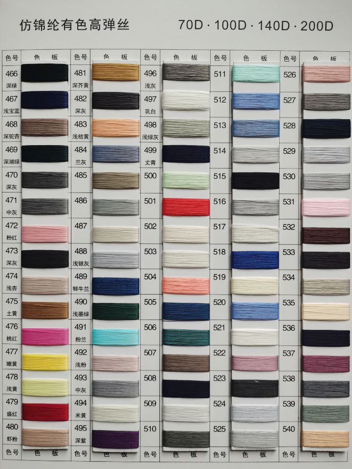 High Strength Quality Imitation Nylon Monofilament Yarn For Knitting