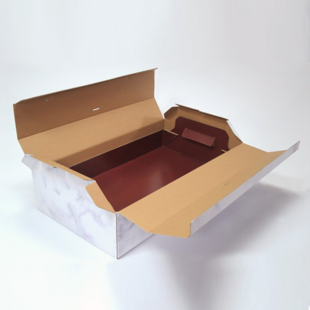 Custom Plain folding style Cardboard Coffins or Paper Coffins