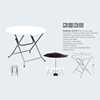 Y95-1:95CM Round Folding Table,74CM Height