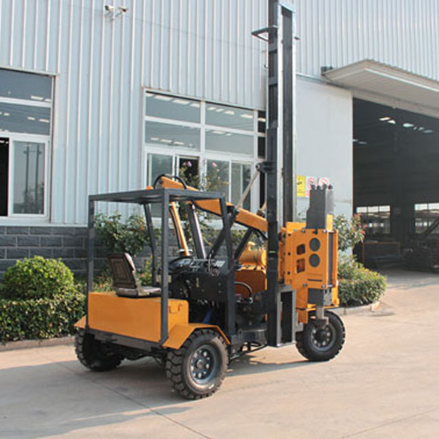 piling machine price slope dedicated mountain photovoltaic pile driver stock pile