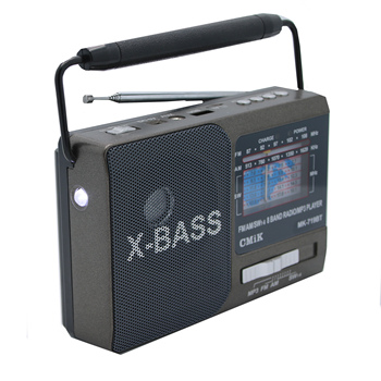 cmik MK-719bt oem best price fm portatil cb redio klasik fm AM/FM/SW 3 Bands portable radio
