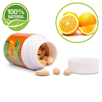 Special Nutrition Formula Custom Orange Flavour Kids Zinc Magnesium Supplements Organic Vitamin C Pill