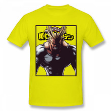 Футболка Man My Hero Academia, японское аниме «One For All Might», футболка, 2020, новый дизайн, рождественский подарок, футболка, хлопковая ткань(Китай)