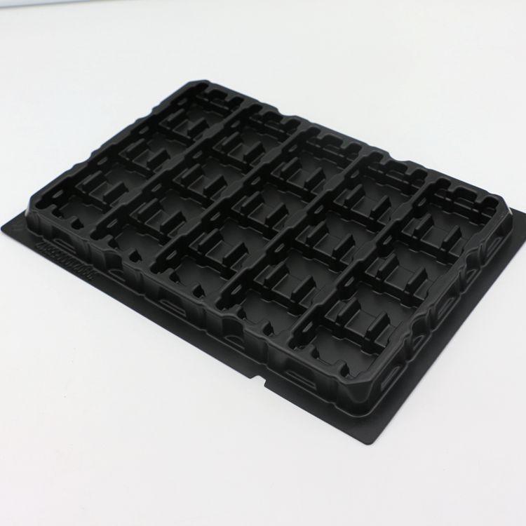Пластиковые вставки ESD, пластиковый блистерный лоток для IC,LCD, упаковка электронных деталей