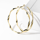 Earrings Hoop Earrings New Style Handmade Round Earrings Circle Jewelry Women Real 14K Solid Gold Hoop 925 Sliver Earrings