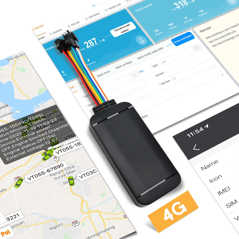 Tracking platform Apps for iphone and android protrack365 itrybrand