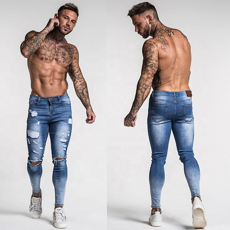 2020 New Fashion Mens Light Blue Ripped Type American Quality Skinny Jeans For Men Buy Skinny Jeans For Men Light Blue Ripped Type Jeans American Quality Skinny Jeans For Men Product On Alibaba Com