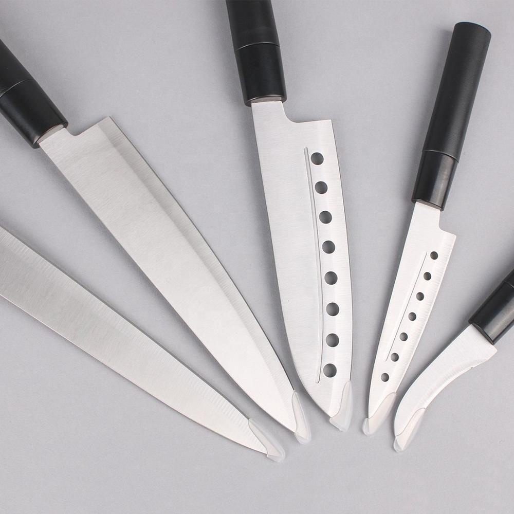 Union Source 5PCS Chef Durable Stainless Steel Kitchen knives Knife Set For Hotel Restaurant Household