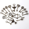 About 20 ancient silver keys