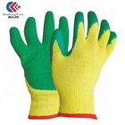 Gloves Slip Glove Rubber Coated Glove China Cotton Lining Latex Coated Safety Rubber Gloves Anti Slip Glove