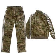 Спортивная одежда в стиле гопника, полный комплект, боевая одежда-(плоский подол), MC XXL(Китай)