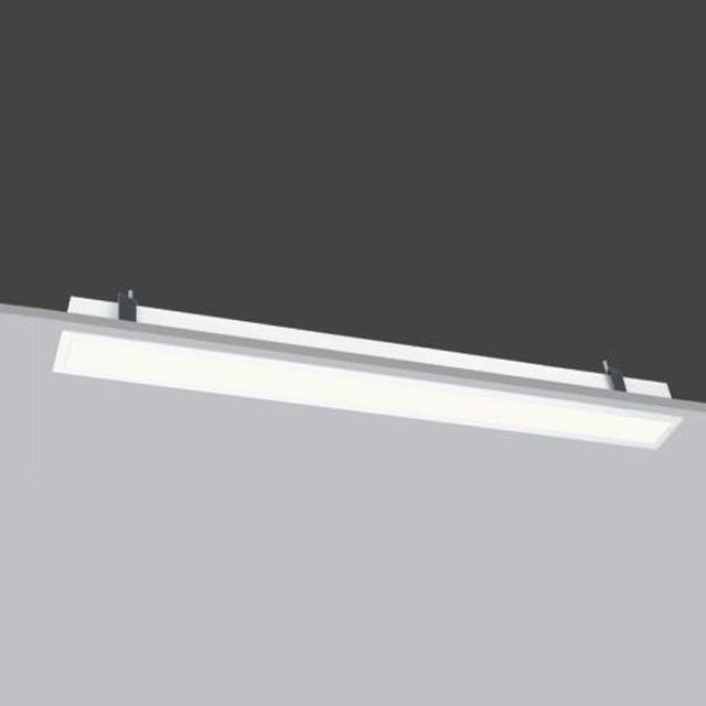 25w 45w 60w Bracket Direct Screwing Stick Diffuser Aluminum Profile Recessed Led Linear Office Downlight Fixture Buy Indoor Office Project Led Linear Light Modern Anti Glare Design Led Ceiling Lights Hotel Corridor Architecture
