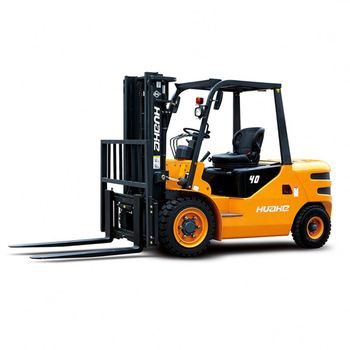 4.5 TON HUAHE 4Wd Rough Terrian 2.0T Wf200 Hydraulic Diesel Jac Forklift Manufacturer HH45