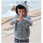 Hoodies Baby Hoodie Wholesale High Quality Plain Custom Baby Zipper Hoodies With Cute 3D Ear