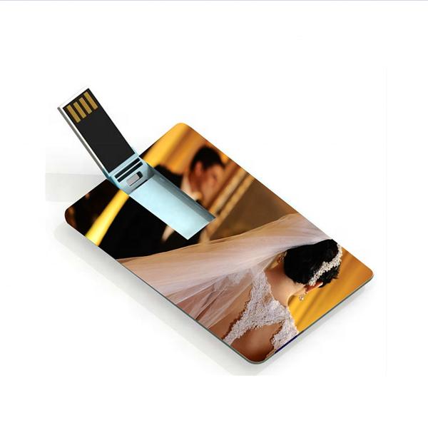 Wedding gift custom logo Credit card usb flash drive, advertising USB gifts business card 4gb 8gb 16gb 32gb pendrive - USBSKY | USBSKY.NET