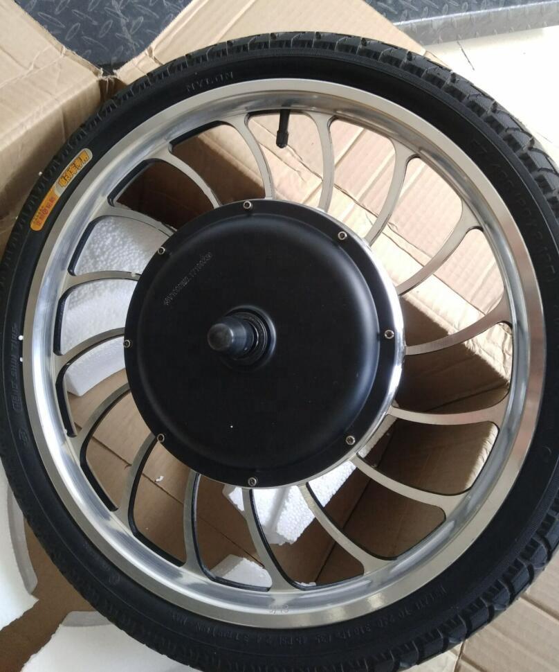 BLDC 20-дюймовый 36 в 48 в 1000 Вт передний приводной задний приводной мотор для скутера моторное колесо 20 дюймов для электрического рикша надувная шина