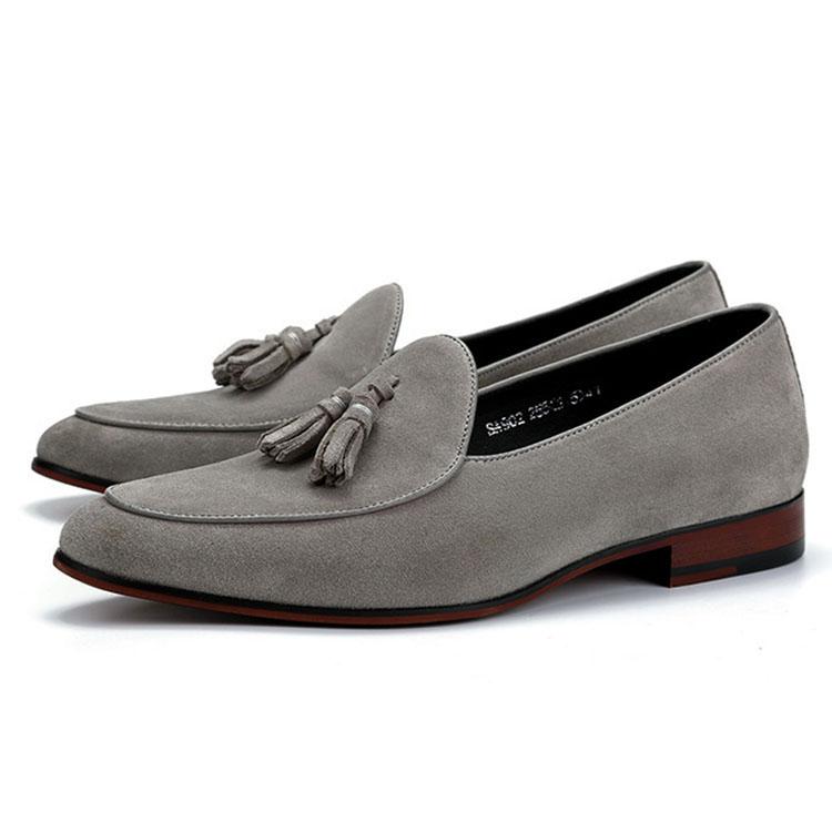 Мокасины мужские кожаные, модная повседневная обувь на плоской подошве, лоферы, топ-сайдеры для вечеринки