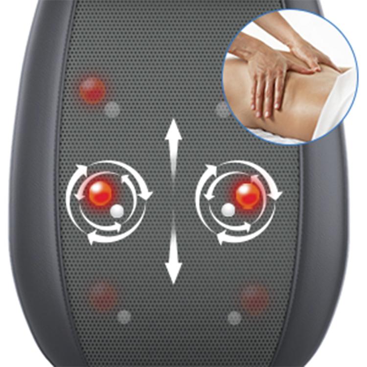 Shiatsu Massage Cushion Full Body Car Seat Massager With Heat,Comfier Neck And Back Massage Cushion