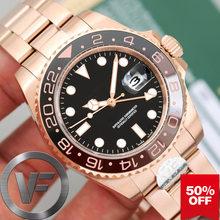 Роскошные брендовые керамические высококачественные регулируемые мужские часы GMT с AAA, механические мужские часы с автоматическим перемещ...(Китай)