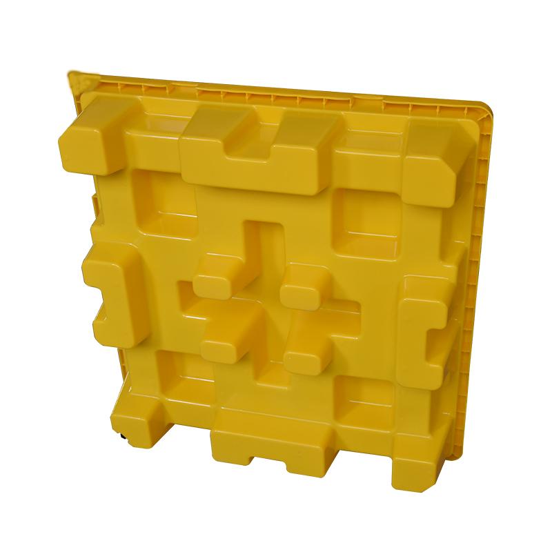 Безопасное хранение пластик 4 барабан никд поддон