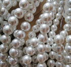 Pearl Beads Beads Cream White Glass Pearl Beads For Jewelry
