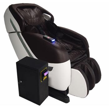L Shape Vending Massage Chair with E pay function / Coin and bill operated massage chair
