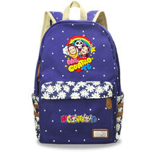 Модный Дорожный рюкзак для девочек с креативным рисунком; Молодежный стиль; Школьный ранец для девочек; Рюкзак для отдыха(Китай)