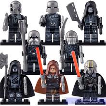 9 шт. фигурки Звездных Войн мандалорские Детские йода Дарт Вейдер строительные блоки игрушки WM6085 совместимы с Lego(China)