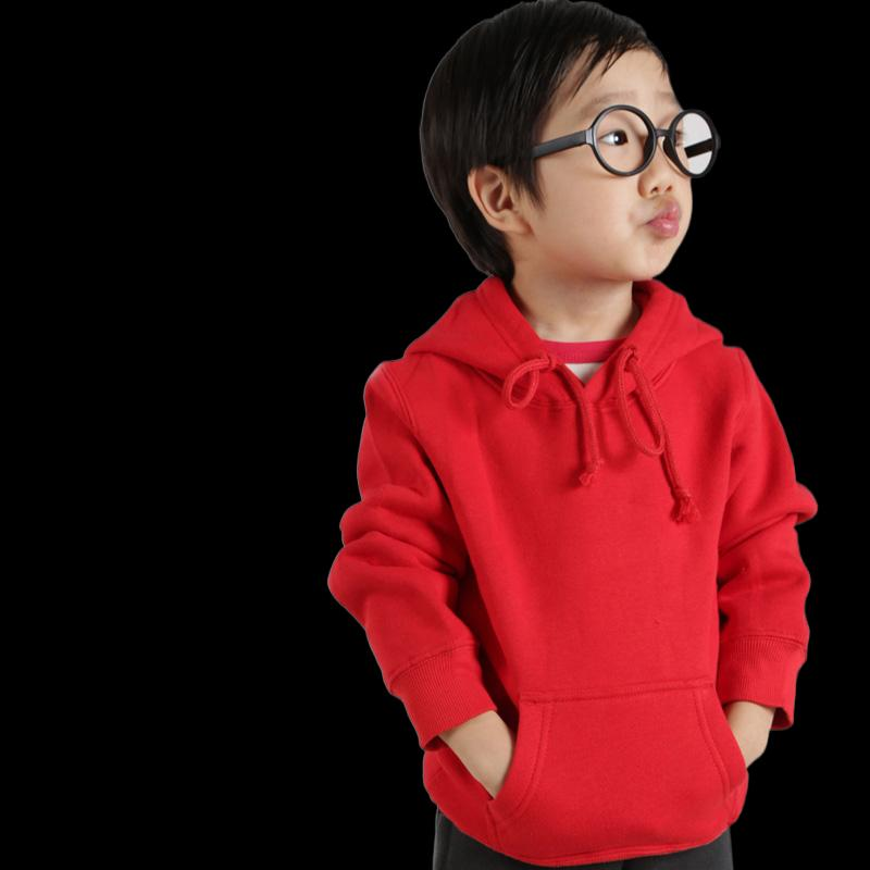 Custom sweater diy sweater hoodie hooded pullover class coat autumn clothes to map custom children's sweater thickening