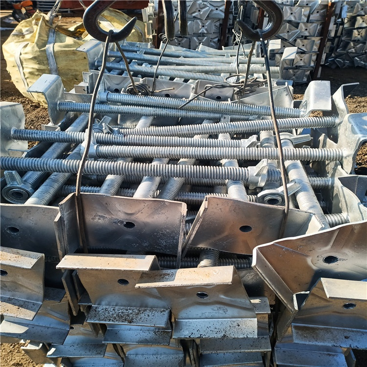 Customized construction hollow solid jack base in Scaffoldings