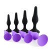 black/purple(3 pc set)