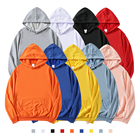 High quality pullover athletic plain blank oversized 100% cotton bts black unisex printed streetwear men clothing hoodies