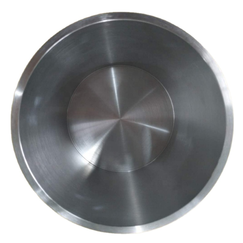high purity more than 99.95% tungsten crucibles for gem furnace